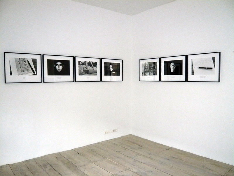 Victor Burgin Gradiva Exhibition View