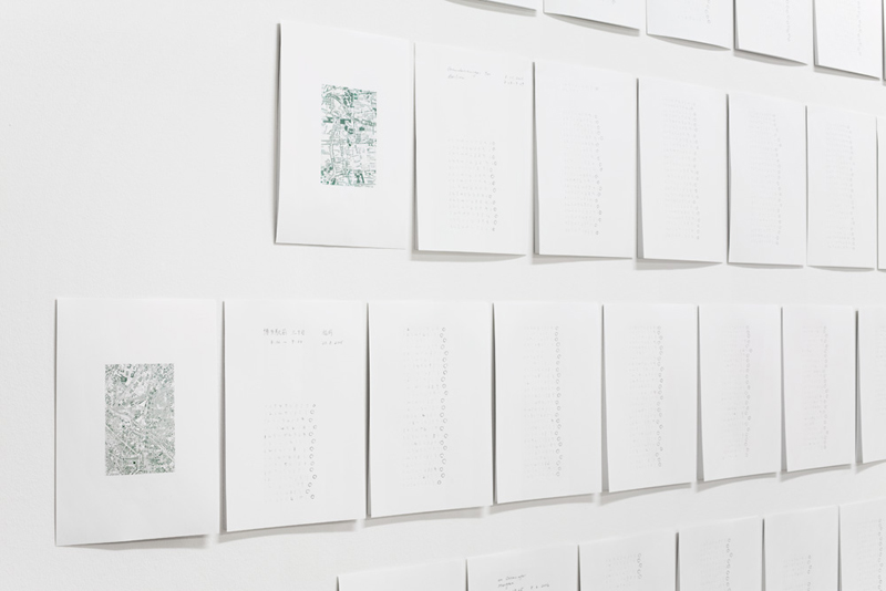 Kanoko Hashimoto MARI Earthtracks Exhibition Views 2
