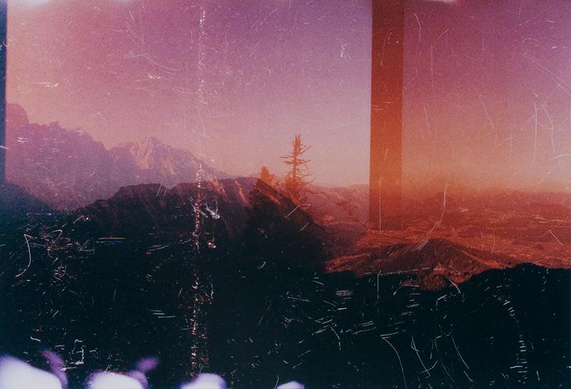 Moritz Hirsch Dropped Landscape Magenta