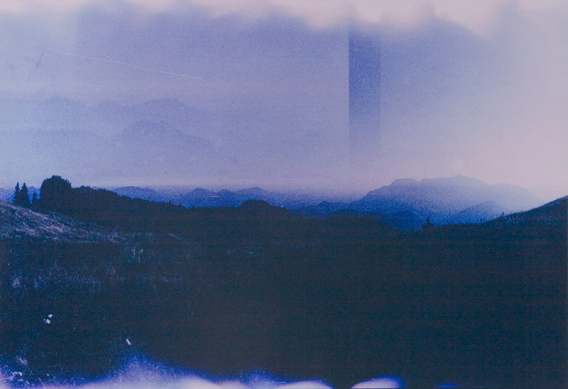 Moritz Hirsch Dropped Landscape Blue