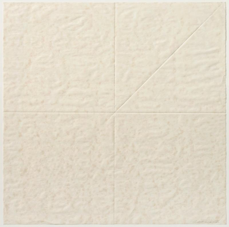 Sol LeWitt Paper Fold 3