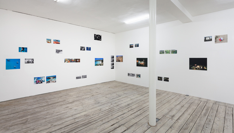 Marco Poloni Displacement Island Exhibition View 1