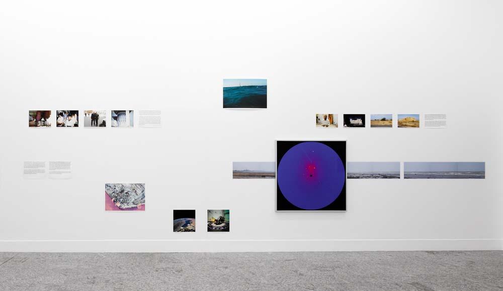 installation view persian gulf incubator kunsthalle bern A3+ 3